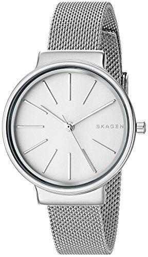 Skagen Orologio Analogico da Donna con Cinturino in Placcato in Acciaio Inox SKW2478