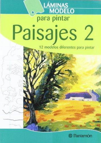 LAMINAS MODELO PARA PINTAR PAISAJES 2 (Láminas modelo para pintar)