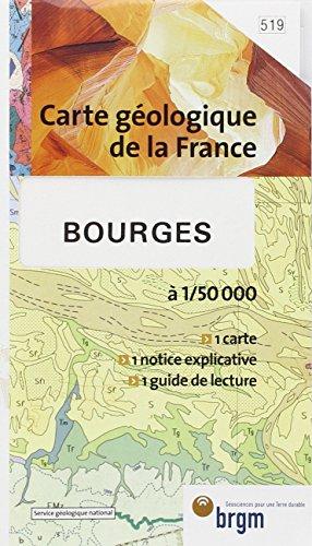 Carte géologique : Bourges