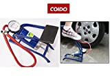 Coido Single Cylinder Tyre and Ball Foot Pump Inflator with Compressor available at Amazon for Rs.1168