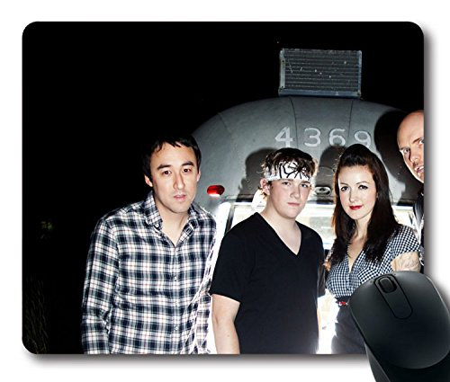 Custom beliebtes Sänger Mauspad mit der potbelleez Tattoo Gläser Mädchen Fotosatz rutschfestem Neopren Gummi Standard Größe 22,9cm (220mm) X 17,8cm (180mm) X 1/20,3cm (3mm) Desktop Mousepad Laptop Mousepads bequem Computer Mauspad Color 27 -