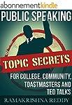 Public Speaking Topic Secrets For Col...
