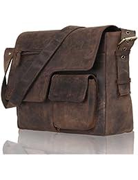 Leaderachi Leather 30Liters Muskat Messenger Bag