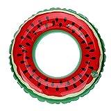 HARRYSTORE Schwimmbecken Aufblasbare Wassermelone Schwimmen Ring Erwachsene Frucht Gedruckt Schwimmen Ring (Durchmesser: 60cm)
