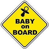 Baby on board Vinyl Auto Aufkleber Van Truck Bike Stoßstange Aufkleber Sicherheitszeichen Vorsicht Zeichen für neue Eltern und Baby