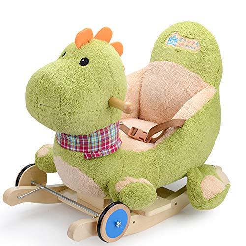 Cheval à Bascule,Kleinkind Rocker Für 6 Monate - 5 Jahre Altes Kind Schaukeltier Plüsch Rocker Für Baby Schaukelstuhl Spielzeug