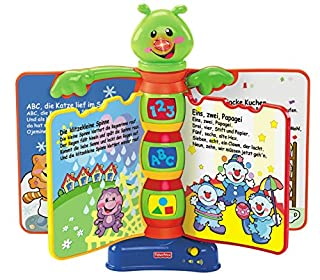 Mattel Fisher-Price H8167-0 Lernspaß Liederbuch, 28 x 25,5 x 7 cm (B0009T2C4E) | Amazon price tracker / tracking, Amazon price history charts, Amazon price watches, Amazon price drop alerts