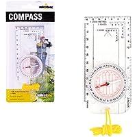Milestone Camping Compass - White