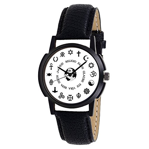 Shocknshop Exclusive Stylish Black Dial Analog Watch For Men & Boys - Religion