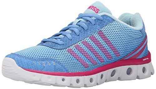 K-Swiss Women's X Lite CMF Athletic Shoe, Little Boy Blue/Clearwater/Beetroot Purple, 12 M US Little Boy Blue Damen Schuhe