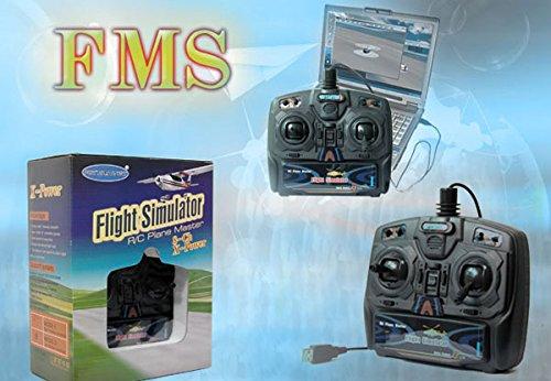 8-Kanal Fernbedienung USB Flugsimulator inkl. FSM Software - 6