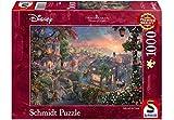 Unbekannt Puzzle Thomas Kinkade Disney Susi und Strolch, 1000 Teile