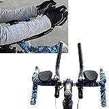 ~ Fahrrad-Gebirgsstraßen-Fahrrad Getrennt Tt Legierung PVC Rest-Lenker Entspannung Vice Lenker