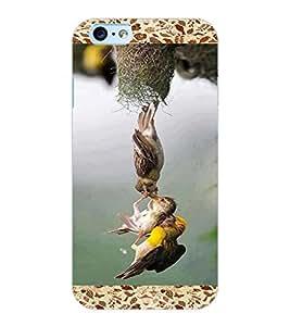 ColourCraft Lovely Birds Design Back Case Cover for APPLE IPHONE 6
