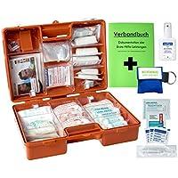 """Erste-Hilfe-Koffer M2+""""PRO"""" mit DIN 13157 für Betriebe & DIN 13164 für KFZ INKL. Notfallbeatmungshilfe, Wundreinigung... preisvergleich bei billige-tabletten.eu"""
