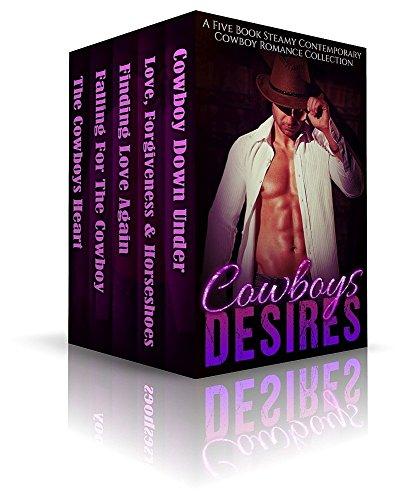 Cowboys Desires- A Five Book Steamy Contemporary Cowboy Romance Collection (English Edition) Bailey Western Top