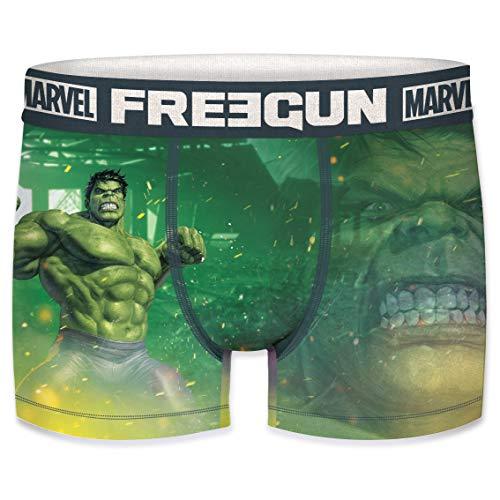 Stärkste Marvel Superheld - FREEGUN Boxershorts Herren Marvel Avengers Hulk
