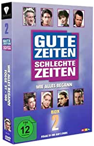 Gute Zeiten, schlechte Zeiten - Wie alles begann - Box 2/Folgen 51-100 [5 DVDs]
