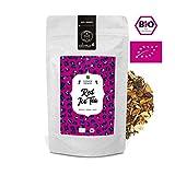 alveus Red Ice Tea BIO ORGANIC: Eistee aus Rooibos, Honeybush, Zitronenschale, Papaya, grüne Minze, Zitronenschale, Lemongras, Hibiscus und Mangostücke, lose Teemischung in 100g Tüte
