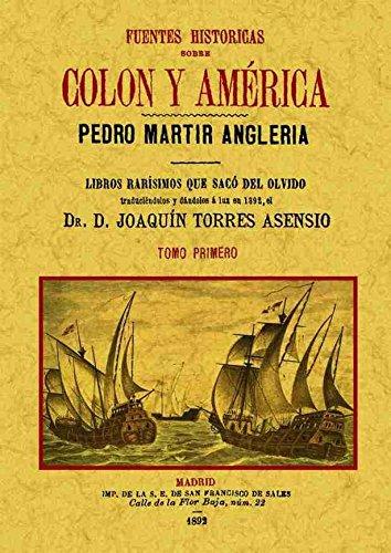 Fuentes históricas sobre Colón y América (4 tomos)