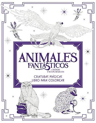 Animales fantásticos y dónde encontrarlos: criaturas mágicas. Libro para colorear (HARPERCOLLINS)