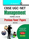CBSE UGC-NET: Management Previous Years Papers - Solved Papers: I, II & III: Management Previous Years Papers (Paper I, II and III) Solved