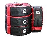 autooptimierer A1240 Reifentaschen 4 Stück zur Aufbewahrung von Reifen, für Räder/Reifen von 14 - 20 Zoll