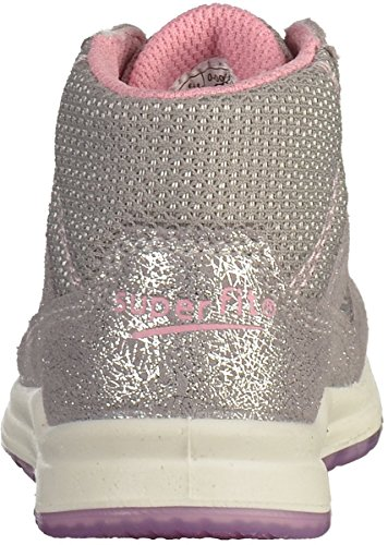 Superfit 0-00432 filles Baskets Argenté