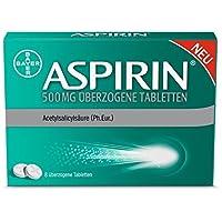 ASPIRIN 500 mg überzogene Tabletten 8St. preisvergleich bei billige-tabletten.eu