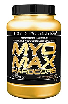 Scitec Nutrition MYO Max Hardcore Anabolic Muscle and Performance Enhancer Powder