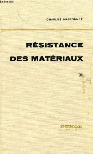 Resistance des materiaux, tome 1