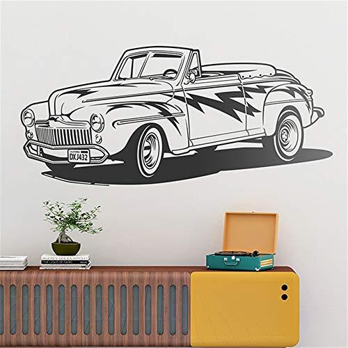 pegatinas de pared bebe Ford Convertible 1948 para sala de estar dormitorio