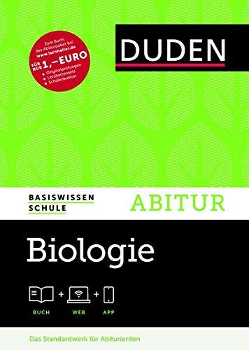 Basiswissen Schule - Biologie Abitur: Das Standardwerk für Abiturienten