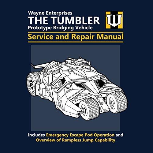 Batman The Tumbler Service And Repair Manual Women's Vest Navy blue