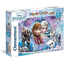 Disney Clementoni 23662 - Maxi Puzzle Frozen, 104 Pezzi