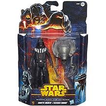 Hasbro A6469E27 - Star Wars Mission Series Figuren 2-er Pack: Darth Vader und Seeker Droid