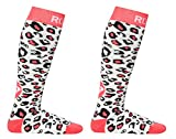 Roxy Madchen 2er Pack Run It Back Ski Snowboard Socken (WBB0/WBB0) SM