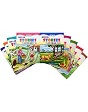 Set of 9 Moral Story Books with 89 Stories.