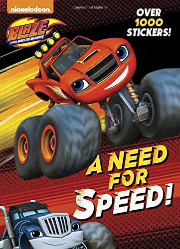 Preisvergleich Produktbild A Need for Speed! (Blaze and the Monster Machines)