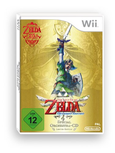 The Legend of Zelda: Skyward Sword - Special Edition (inkl. Orchestra CD) (Zelda Nintendo Wii)