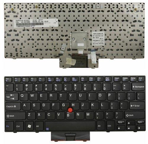 qinlei Neue Laptop-Tastatur für IBM Lenovo ThinkPad X100X100E X120X120e P/N: 60y933160y936660y991260y987745N297145N293609g53us 54N02F mk-83us US Layout Schwarz Farbe