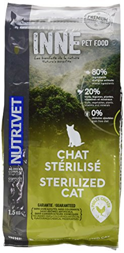 Nutrivet Inne Sterilise pour Chat Sac de 1,5 Kg