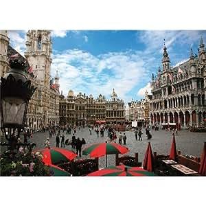 Puzzle 1000 pièces - Lieux célèbres : Bruxelles, Belgique