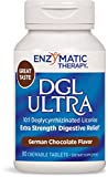 DGL Ultra, German Chocolate Flavoured, 90 Chewable Tablets