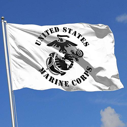 dfhsdh Flagge United States Marine Corps Flags 3x5 Foot Banner 3X5 Ft Polyester Banner Flags -