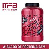 MYFITBODY Whey Isolate Gama Pro - Aislado de Proteína de Suero de Leche, sabor vainilla - 2,2 Kg