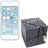 DURAGADGET FANTÁSTICO Altavoz Bluetooth Portátil Para Apple iPod Touch ( 6 / 5 / 4 / 3 / 2 / 1 Generación )- Con Luces De Colores - Cable De Carga + Cable Mini Jack Incluidos - Alta Calidad