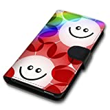 Book Style Handy Tasche - Design MV-55 - für Samsung Galaxy S5 / S5 Neo - Cover Case Schutz Hülle Etui Schutzhülle
