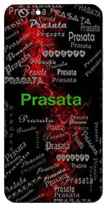 Prasata (Father Of Draupad) Name & Sign Printed All over customize & Personalized!! Protective back cover for your Smart Phone : Sony Z3 PLUS