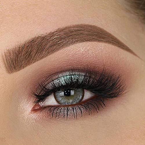 Kontaktlinsen, 2 Paar (4 Stück) farbige kontaktlinsen ohne stärke 0.00 Dioptrien - Jahreslinsen (Mondlichtblau)